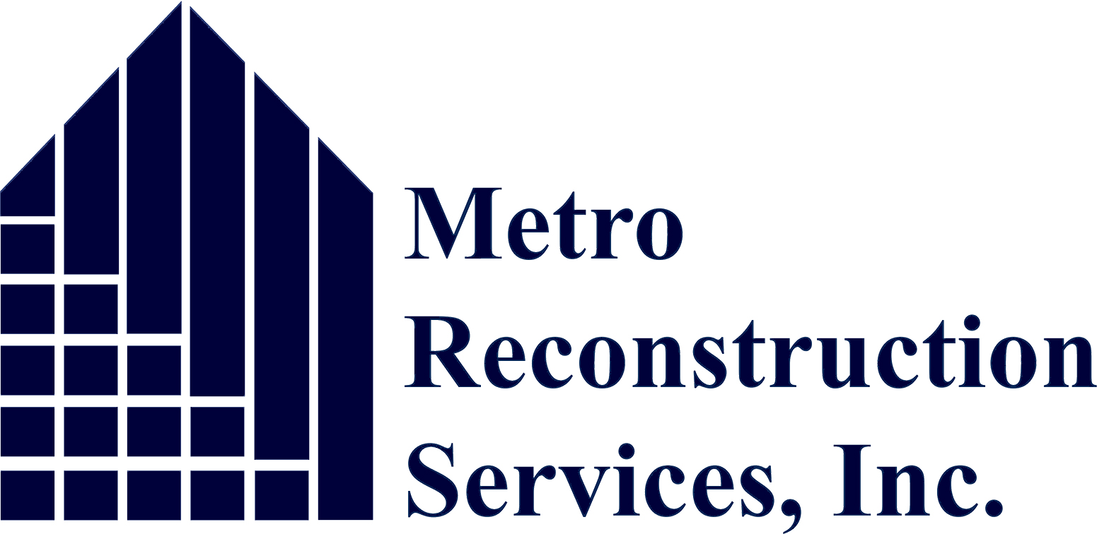 logo Metro Reconstruction really big no background