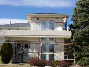 For stucco and EIFS repairs in Denver, Littleton, Genesee, Golden, Morrison, Front Range and Mountain Communities in Colorado, call Metro Reconstruction.