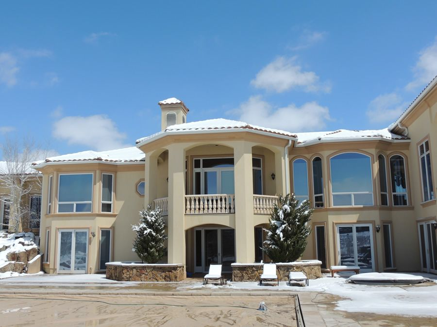 Fixing stucco and EIFS in winter in Colorado