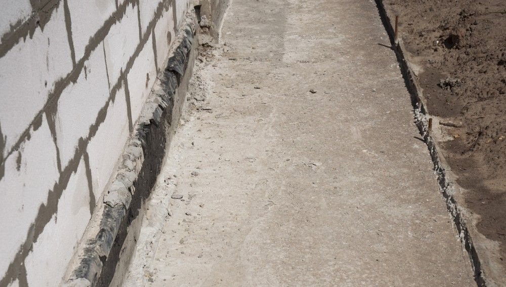 Cracks in your foundation is a bad sign. Call us for an estimate on foundation and structural repairs.