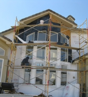 Exterior renovations in Baltimore, Ocaso project